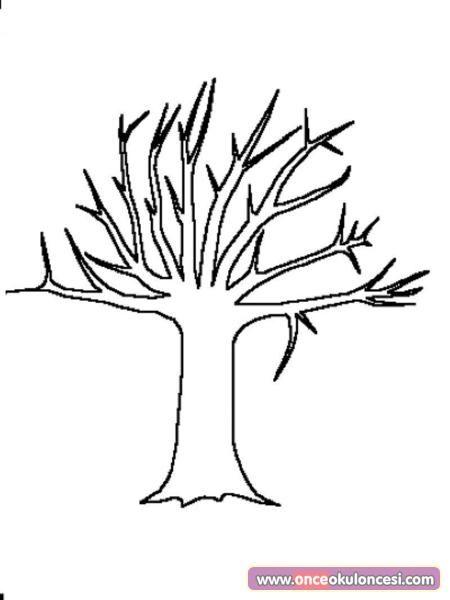Boya Kes Yapıştır Ilkbahar Ağacı Yap önce Okul öncesi Ekibi Forum