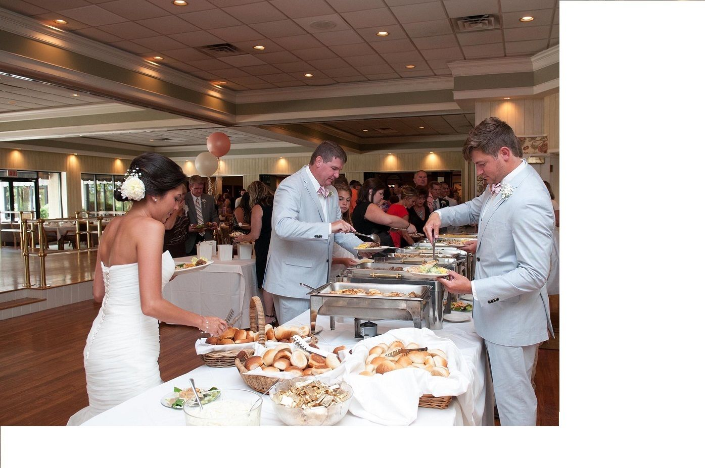 Pinewood Country Club Wedding Dinner Buffet Options