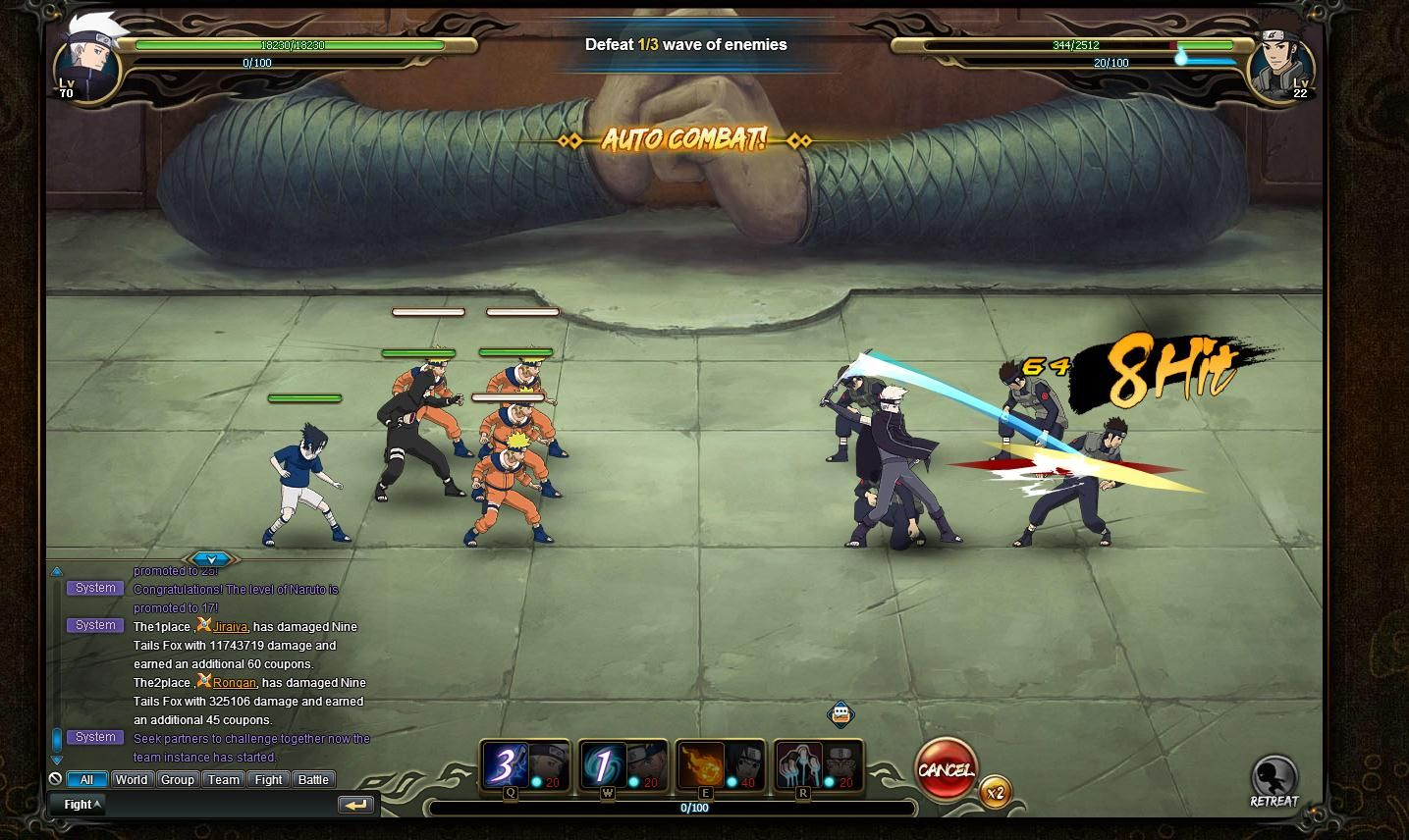 Gamenaruto Mmorpg Naruto Mmorpgonlinegame The Must Play Online Mmorpg Of 2016 Officially Licensed By Namco Banda Mmorpg Games Naruto Games Naruto English