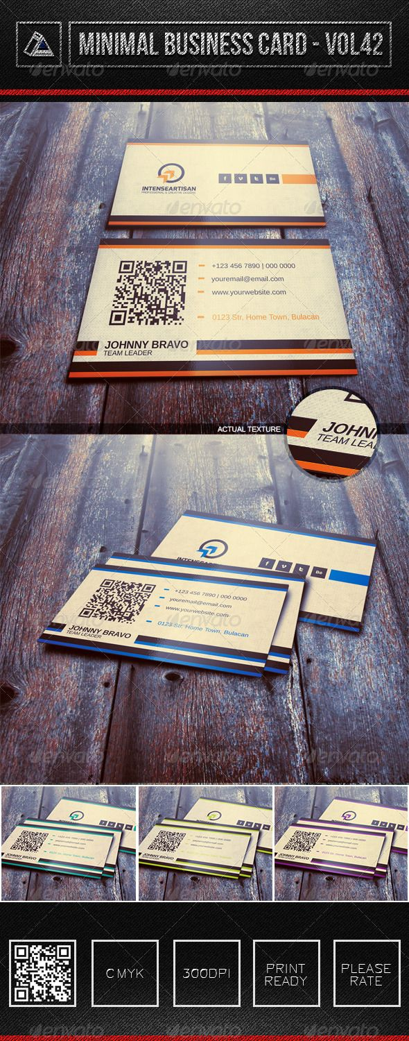 IntenseArtisan Business Card Vol.42  #GraphicRiver