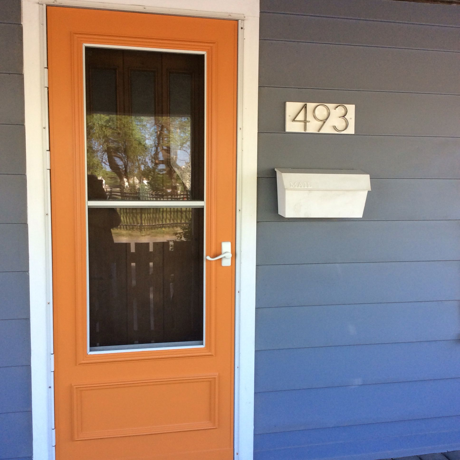 Benjamin Moore Buttered Yam On 1920s Craftsman Cottage