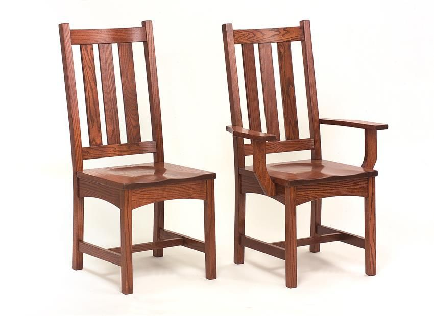 Amish Vintage Mission Dining Chair
