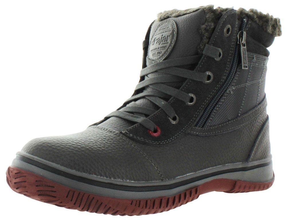 Boots Canada Trooper Waterproof Winter Pajar Shearling Low Men's 8n0OkPwXN