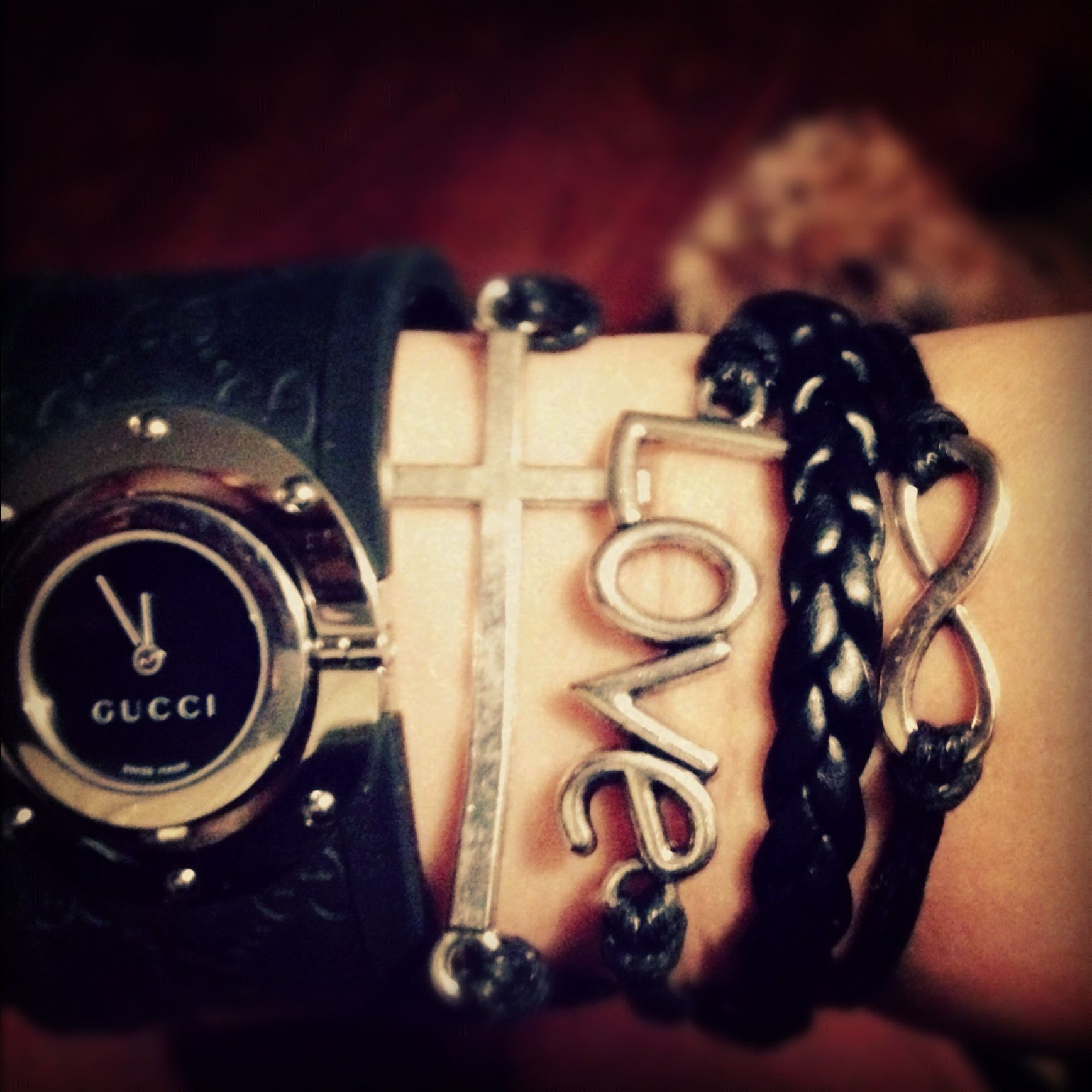Faith love eternity bracelet super easy to make fashion favs