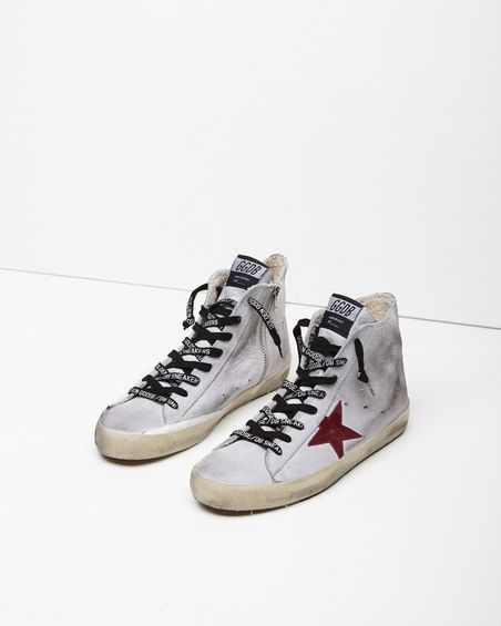 Sneaker Homme Pas cher en Soldes, Noir, Cuir, 2017, 39Golden Goose