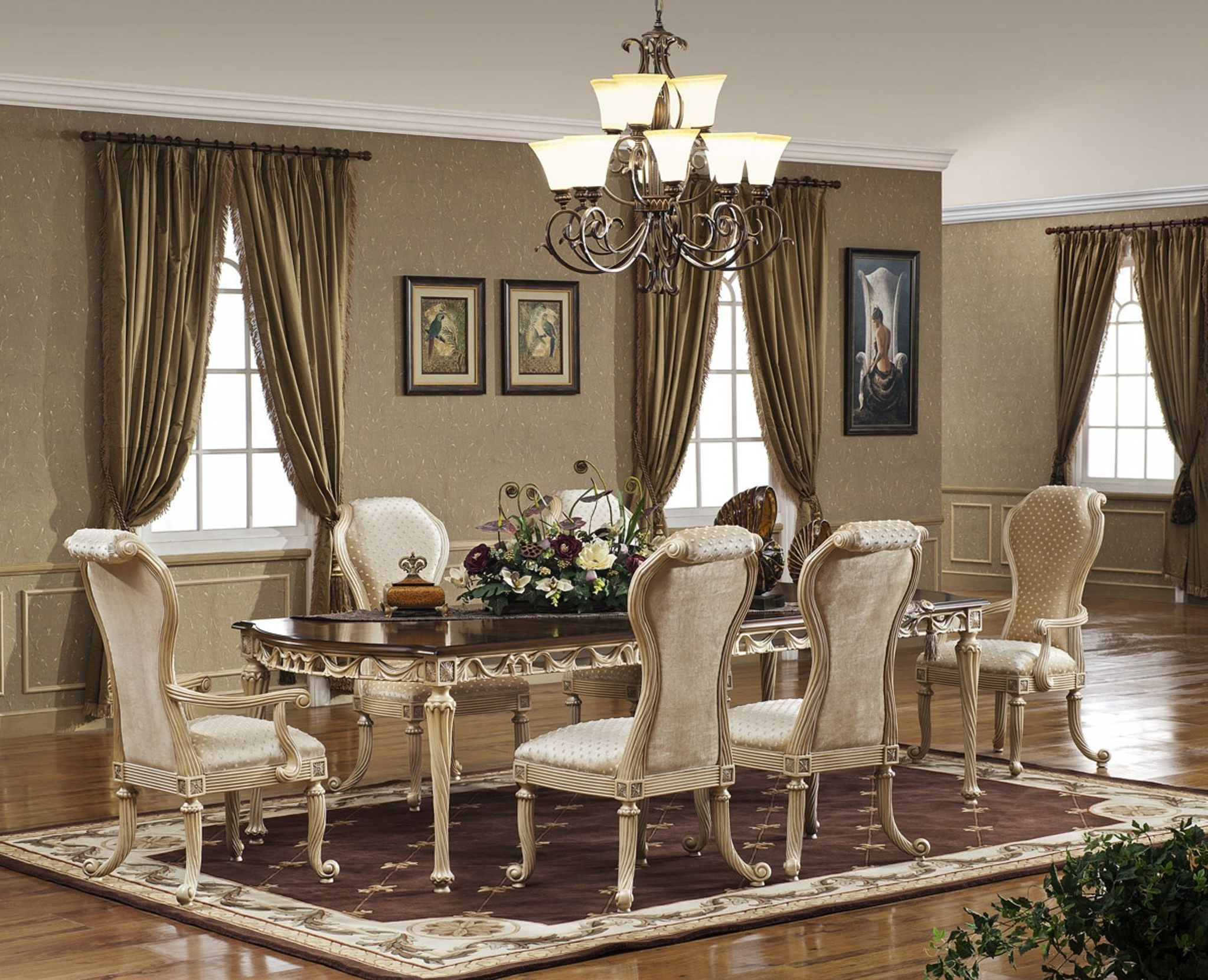 Décor For Formal Dining Room Designs Part 51