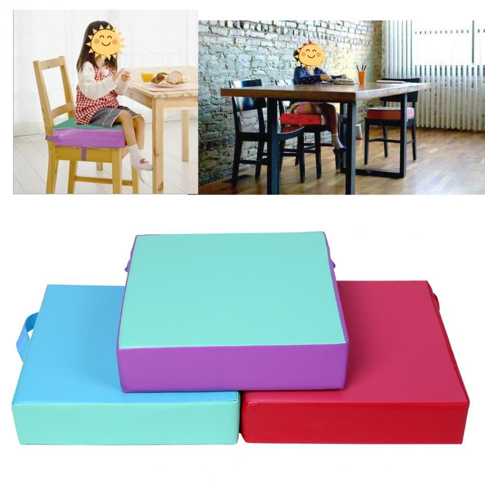 Click To Buy 1pc Booster Seat Cushion Kids Chair Pad Dining Chair Booster Cushion Kids Children Highchair Seat Chair Seat Cushion Dining Chairs Seat Pads