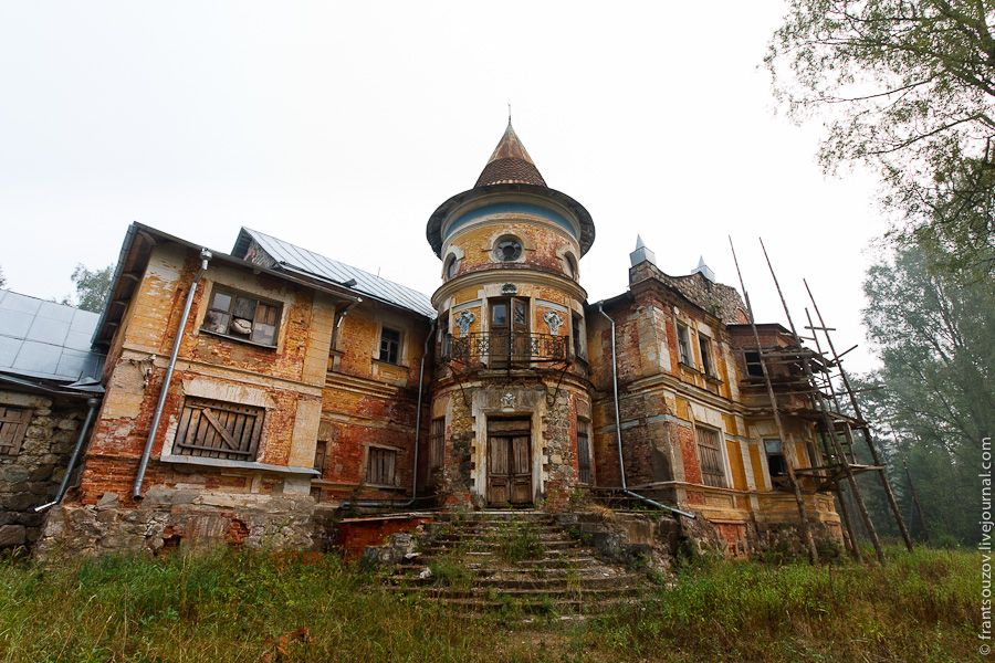 manoir abandonne horreur russie manoir pinterest demeures abandonn es maisons. Black Bedroom Furniture Sets. Home Design Ideas