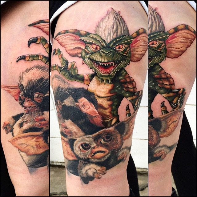 Gremlin Tattoo Designs