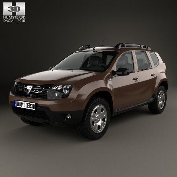 3D Model Of Dacia Duster 2015