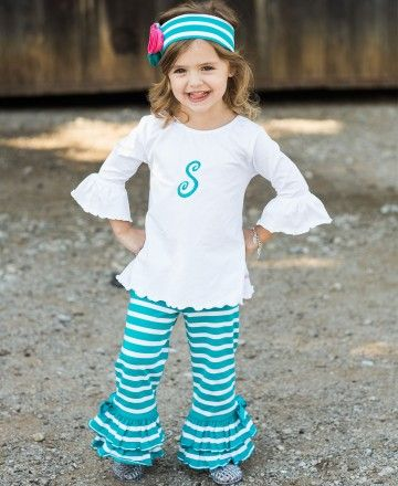 Stand out in bold stripes! Super soft and movable cotton make these pants great for a day of play.  Add one of our lightweight tops to complete the look.