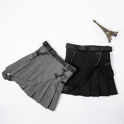 2353c6a94 Hip hop irregular stitching plaid skirt YV40288 in 2019 | Fashion ...