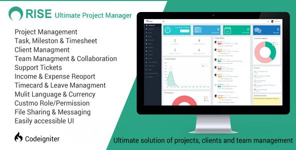 RISE - Ultimate Project Manager | Code Script | Project