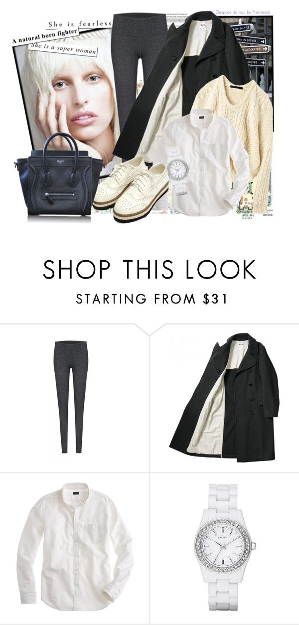 """""""by francesca For me"""" by fran-guess ❤ liked on Polyvore featuring KAROLINA, Marc by Marc Jacobs, J.Crew, DKNY and CÉLINE"""