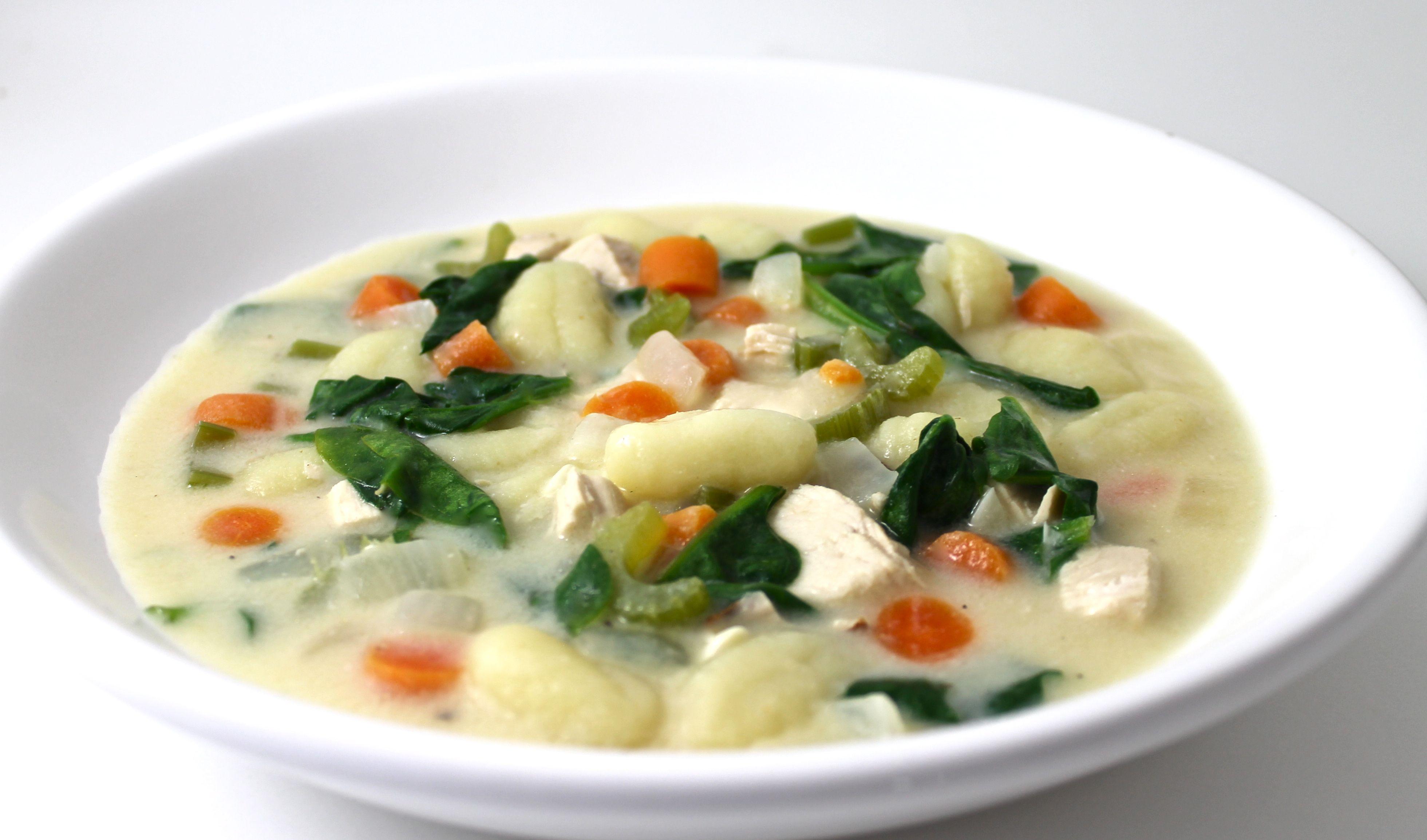 Olive Garden Chicken Gnocchi Soup Made Skinny Chicken