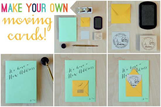 Make Your Own Change Of Address Cards