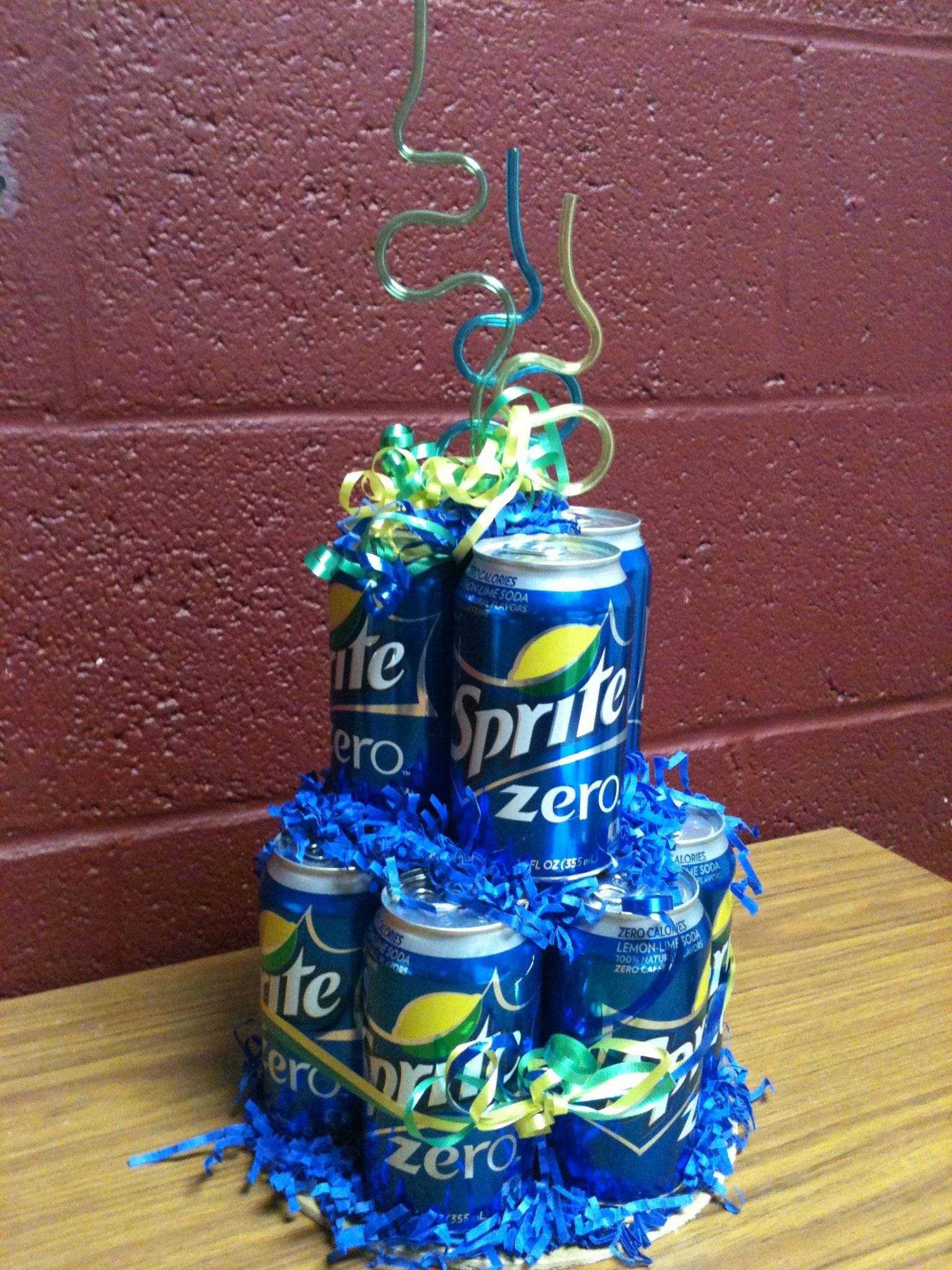 "Sprite zero "" cake"", great gift for someone who has almost everything."