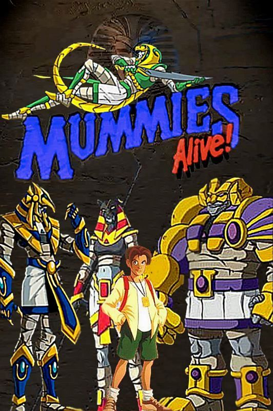 Mummies alive. Loved this show as a kid 90s cartoon
