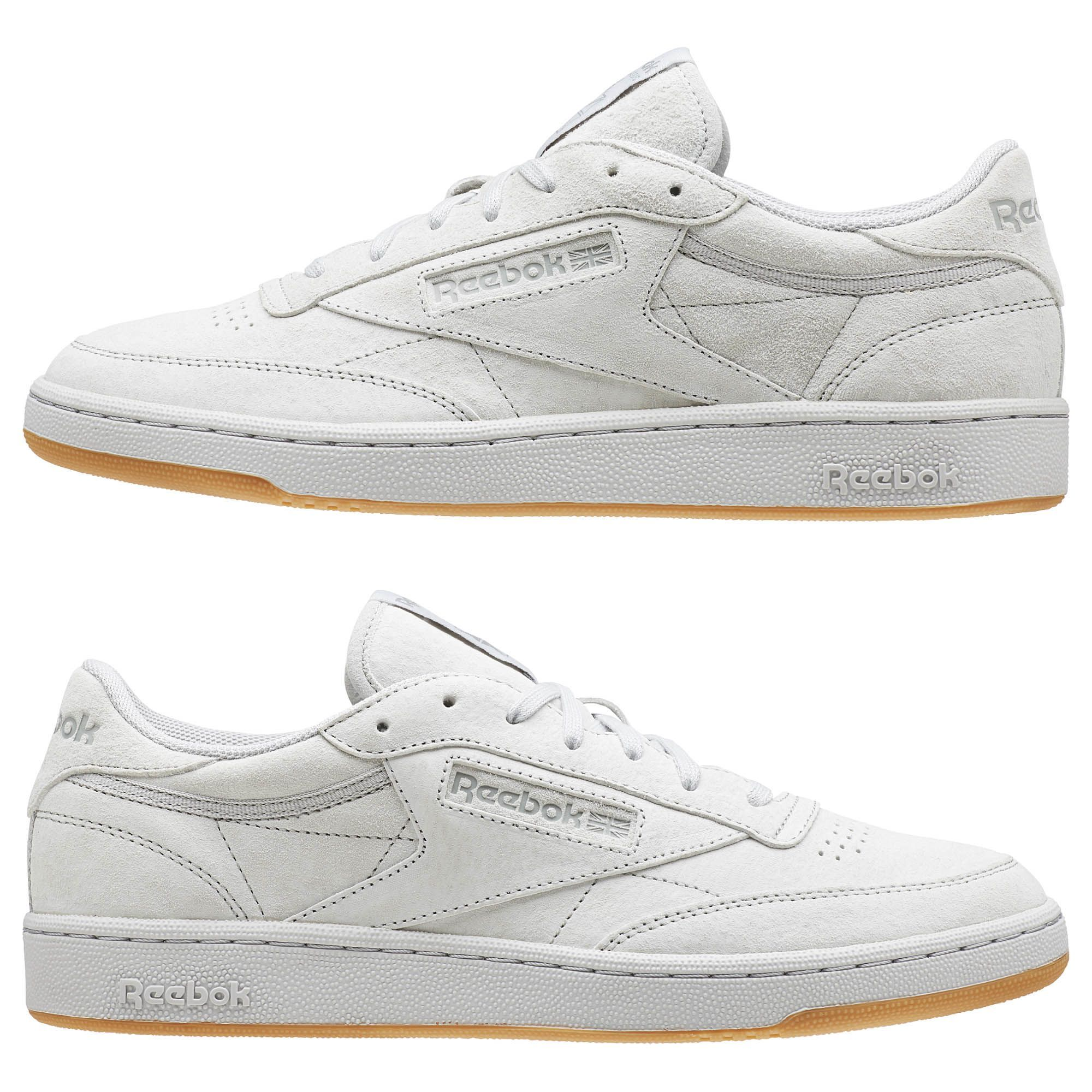 Reebok Club C 85 Tg Steel Carbon Gum Bd1886 Chaussure Chaussures Converse Collection De Chaussures
