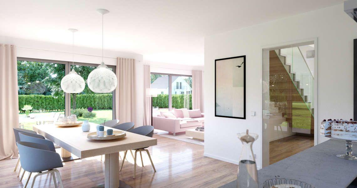 Kern-Haus Familienhaus Vero Esszimmer Living Pinterest Haus - badezimmer aufteilung neubau