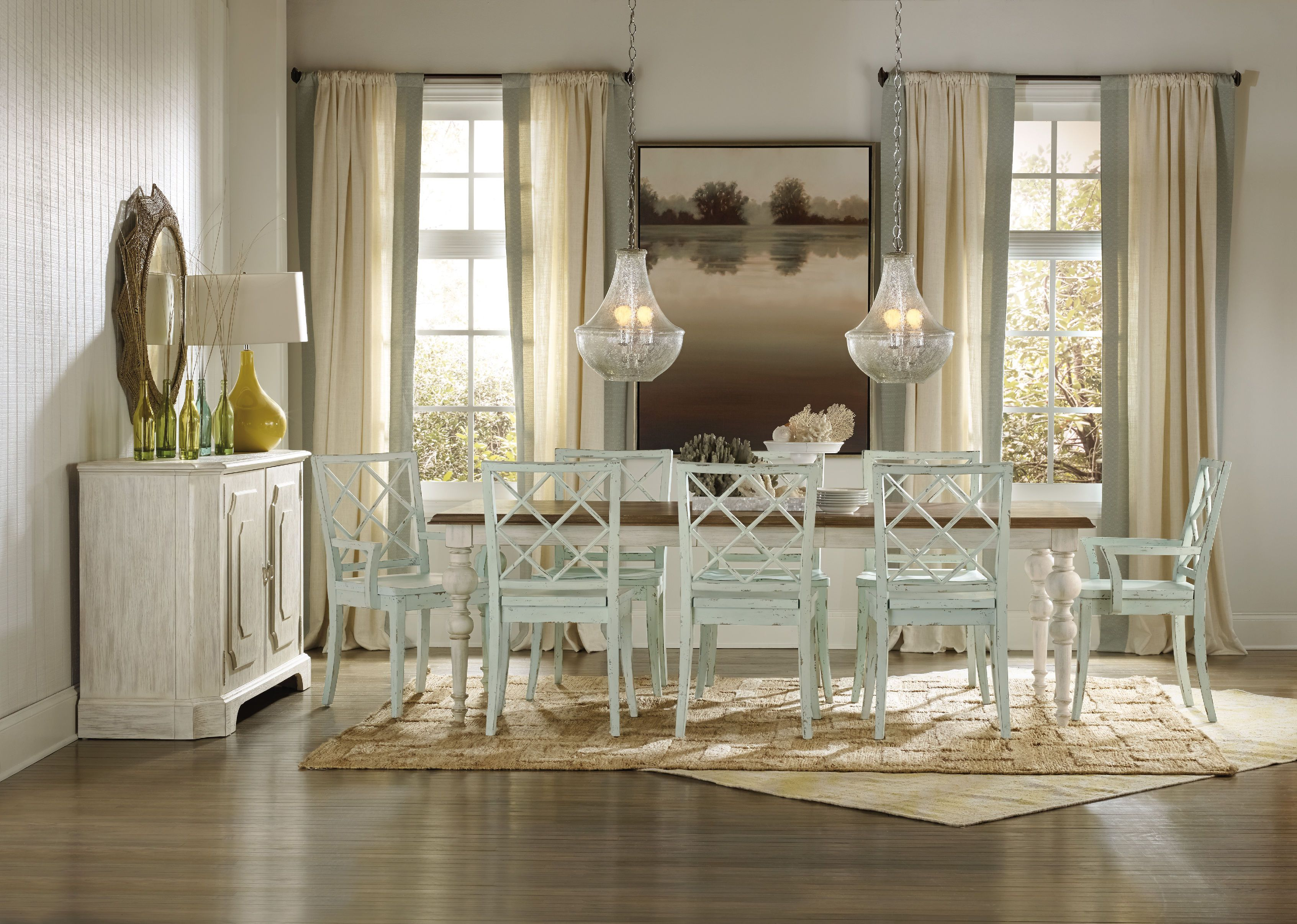 Hooker Furniture Dining Room Sunset Point Rectangle Dining Table Inspiration Rectangle Dining Room Tables Design Ideas