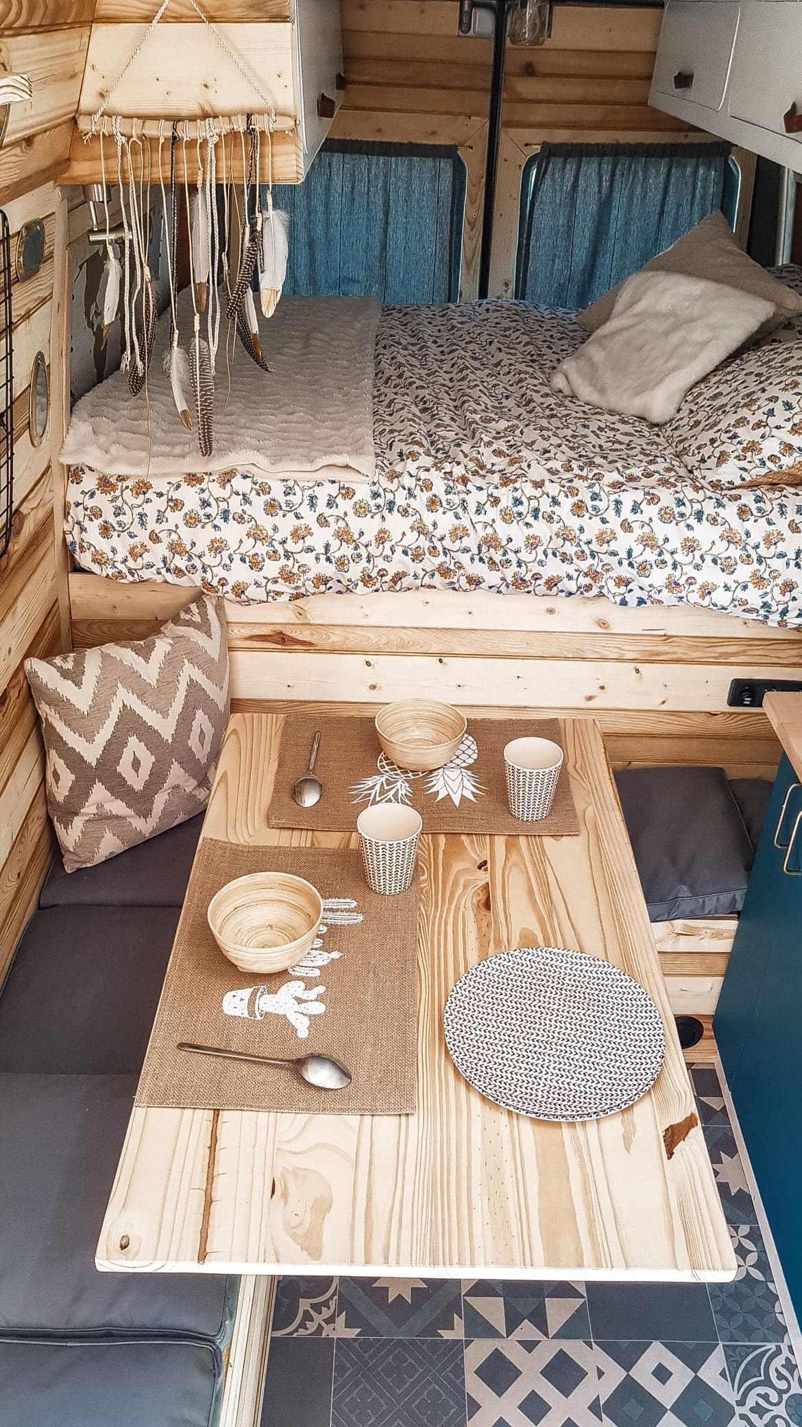 Photo of caravan interior 742531057300357599 –  Amenager son fourgon Source by sarahcante…