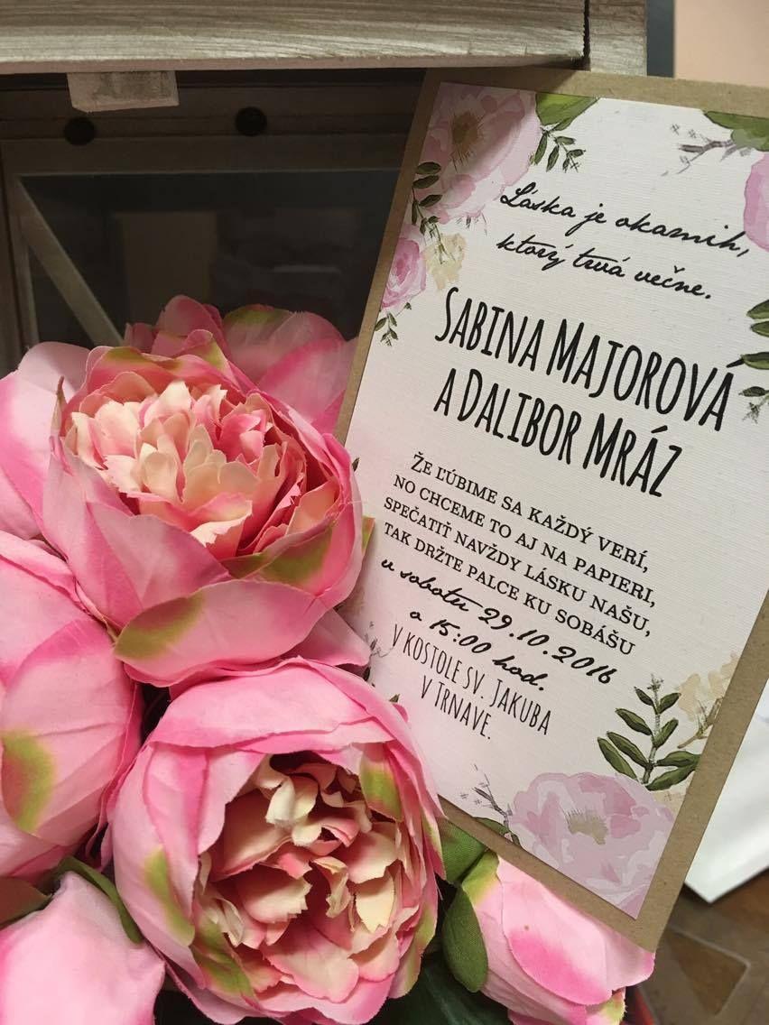 Pin by NA VAŠU SVADBU on Wedding announcement and invitation ...