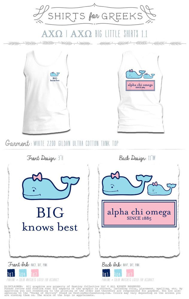 Pre Sale Item Alpha Chi Alpha Chi Omega Sorority Shirt Designs