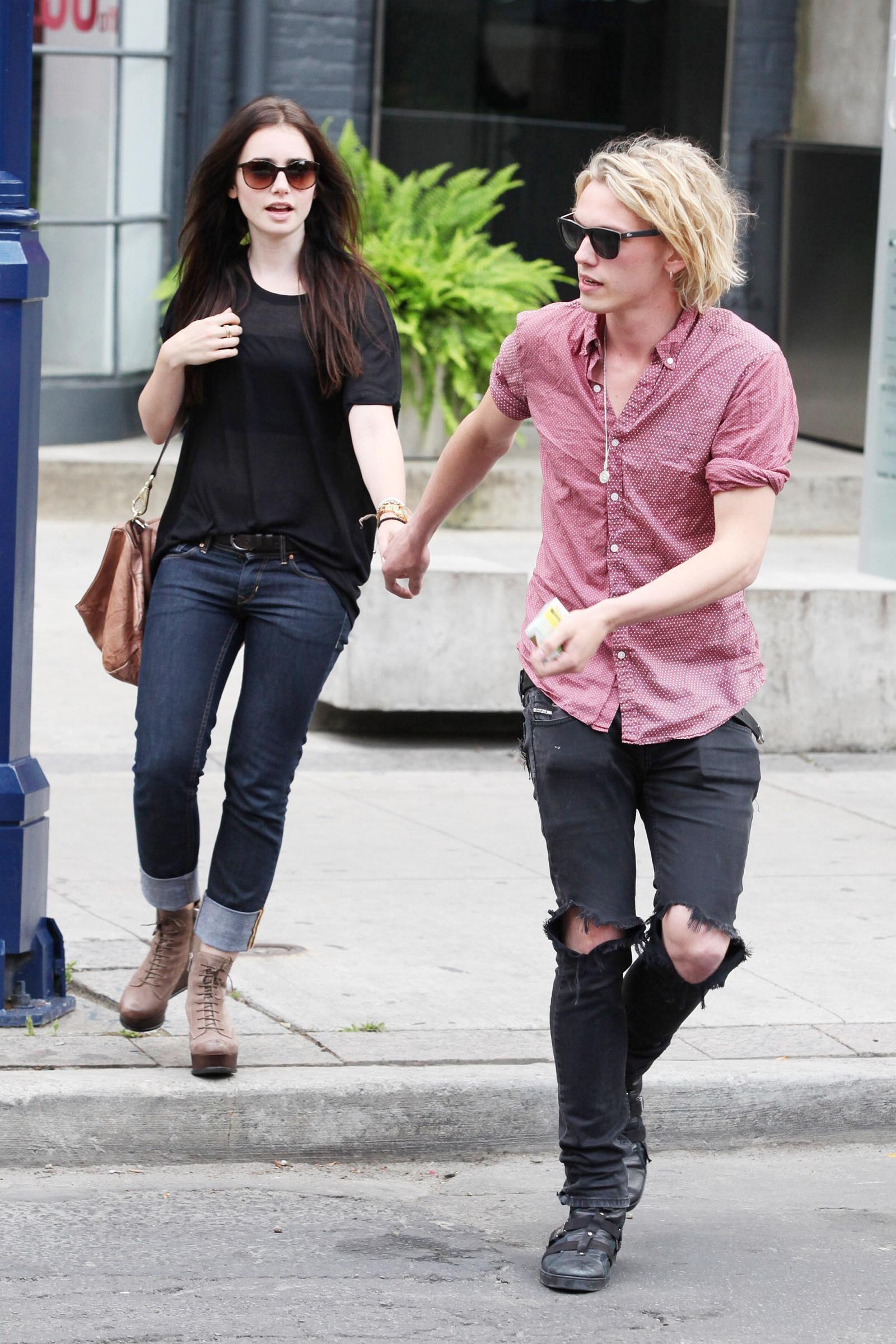Lily en Jamie dating