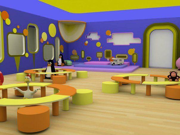 Home Daycare Design Ideas: Childcare Interior Design (3)