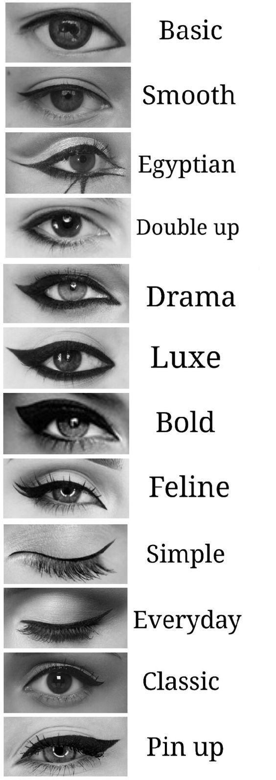 How to Put on Eye Liner Tricks Video and Steps – makeup