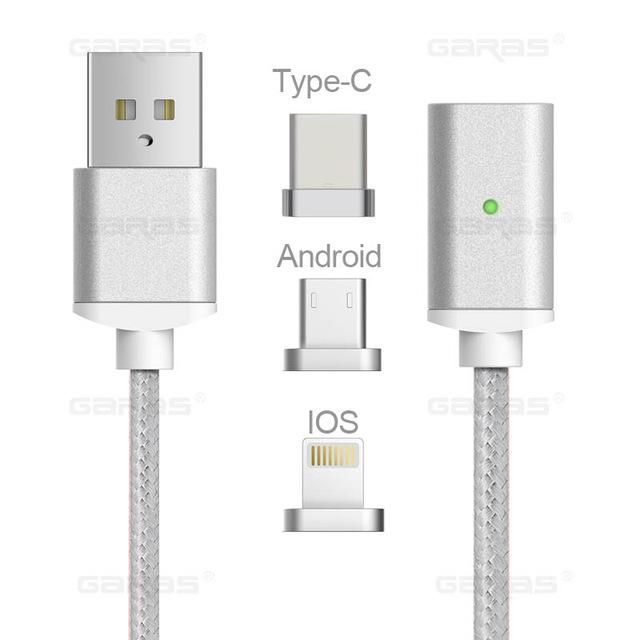 USB Magnetic Cable Android & iOS | Products | Charging cable