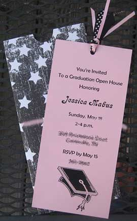 handmade graduation invitation ideas these invitations have been