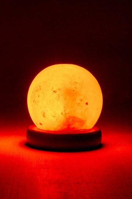 Round Mini Usb Powered Salt Lamp Earthbound Trading Co Salt