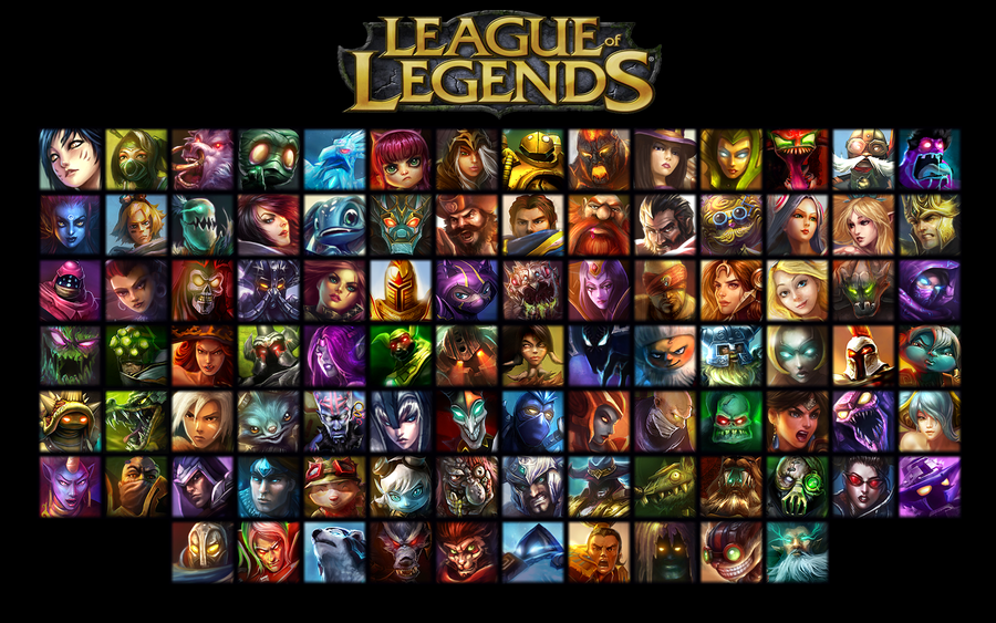 League Of Legends Champions Wallpaper By Guttux League Of Legends Game League Of Legends League Of Legends Rp