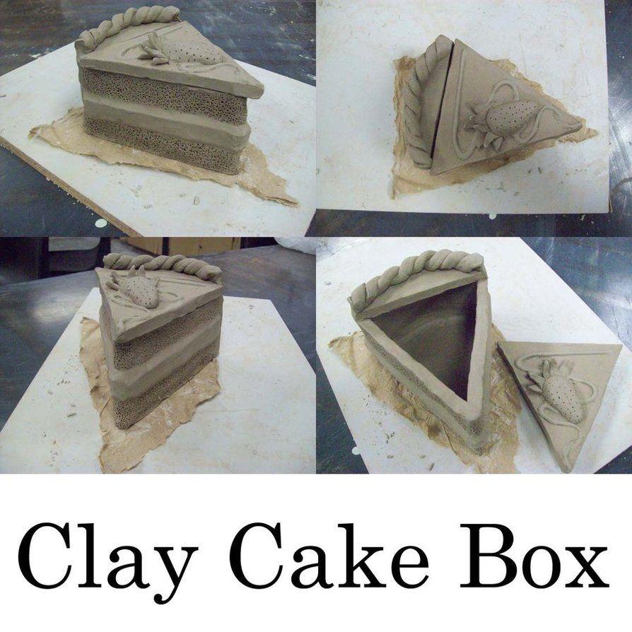 Clay Cake Box by AirixAram on DeviantArt   8th grade art ...