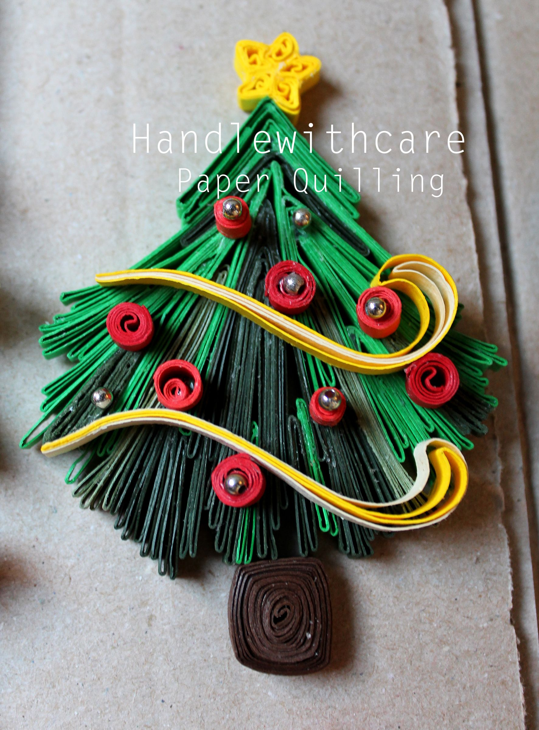 Decorazioni Natale Quilling.Quilling Christmas Decorazioni Natalizie Gorgeous Quill Quilling