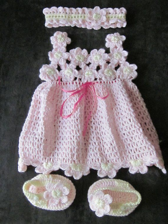a9336927e5f Handmade Baby Crochet Dress
