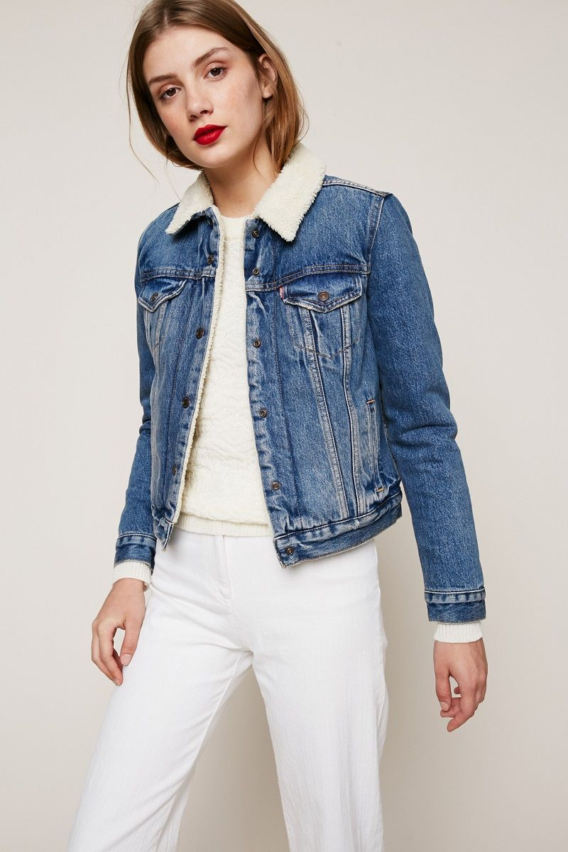 levi 39 s veste jean extremely lovable original trucker clothing accessories veste en jean