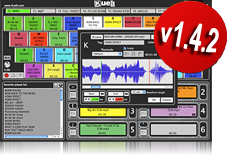 Great software to play out all your DJ drops and jingles