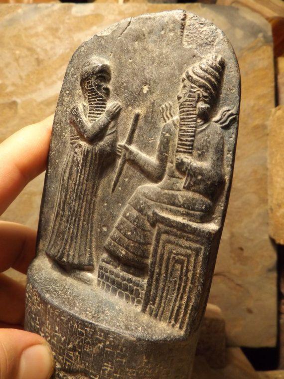 Code Of Hammurabi Babylonian Law Code Circa 1754 B C E Dimensions Height 16 Cm X2f 6 1 X2f 2 Inches Width 8 Cm Law Office Decor Coding Quartzite