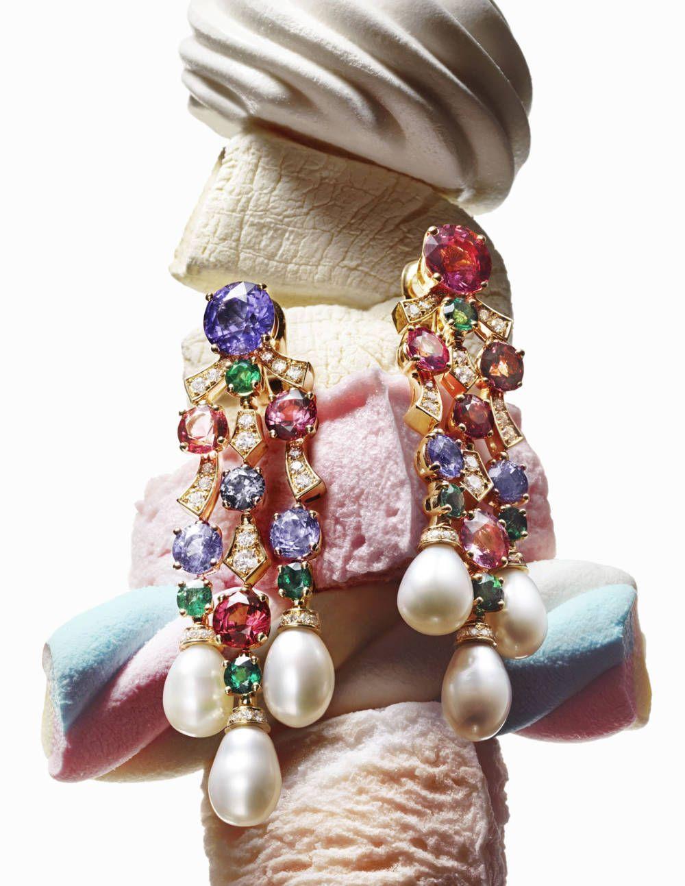 Bulgari earrings.