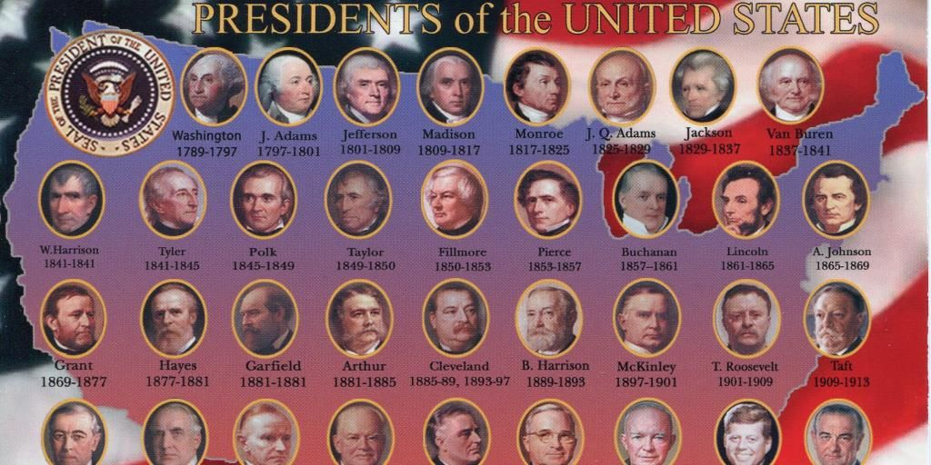 Do you know the first ten Presidents