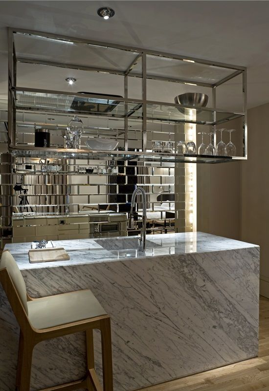 Hotel Guest Room Design: The Kitchenette Of The Witt Istanbul Hotel