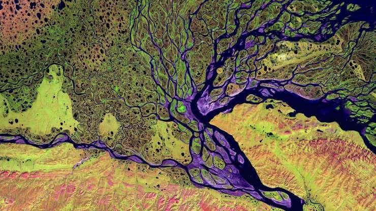 Delta De Lena En Siberia Rusia Fotos Evolucion Humana Bing