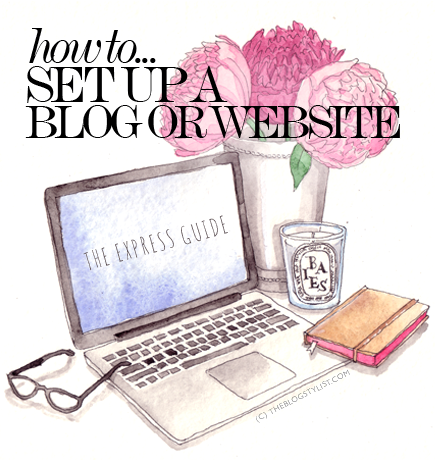 How to set up a blog or website - easy step-by-step instructions