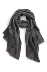 Calibrate Basketweave Scarf available at #Nordstrom