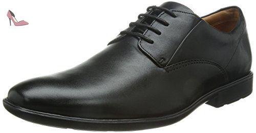 Clarks Kolby Walk, Derbies à lacets hommes - Noir - Cuir noirci, Taille 43  EU - Chaussures clarks (*Partner-Link) | Clarks Shoes | Pinterest | Clarks
