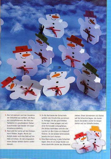 Bastelhits für Kind - Weihnachtlicher Bastelspass