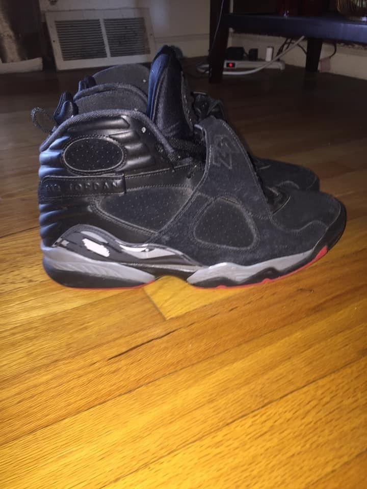 72ed755a4218 Cement Air Jordan Retro 8 Size 12  fashion  clothing  shoes  accessories   mensshoes  athleticshoes (ebay link)